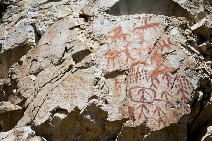 Idaho Indian Pictographs