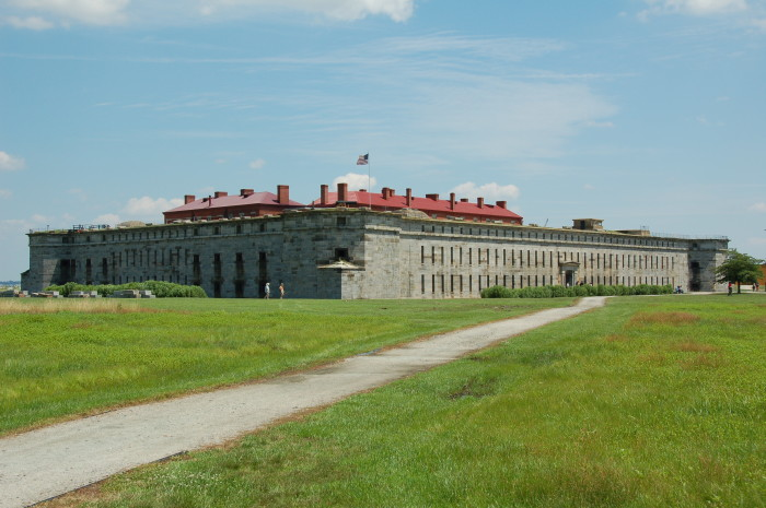 6. Fort Delaware on Pea Patch Island