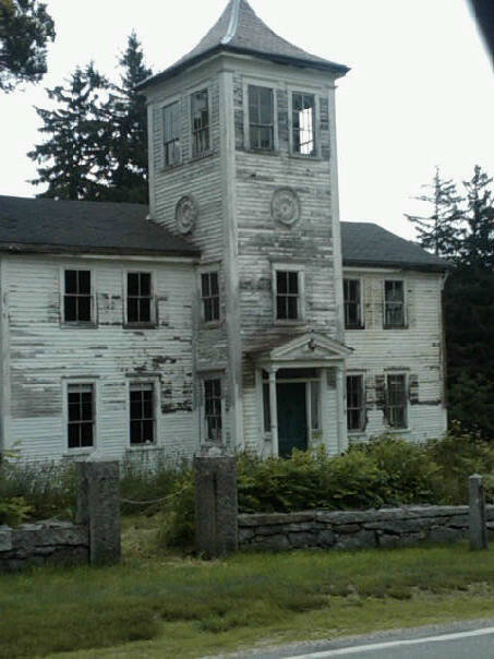 7. This old Moultonborough house has to be haunted.