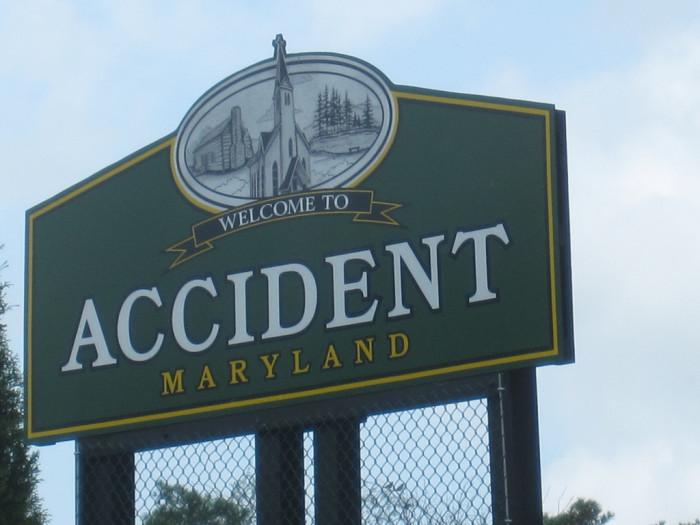 7. Accident, Garrett County
