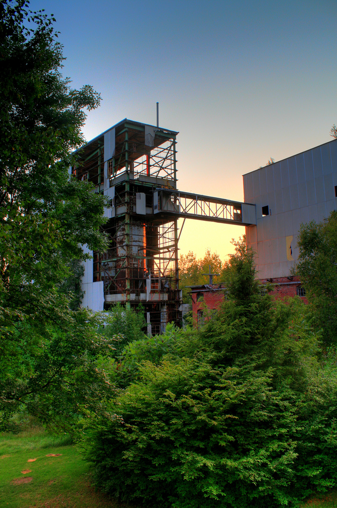 9. This old industrial building gives us the creeps.