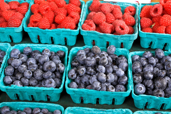 4. You've spent an afternoon berry picking...