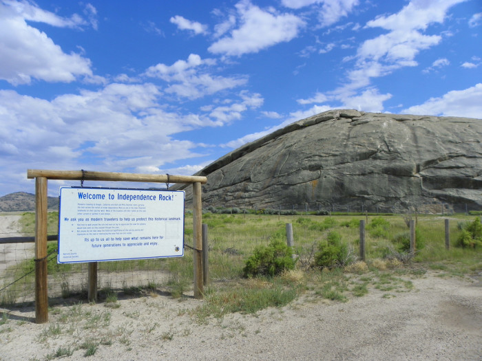 2. Independence Rock