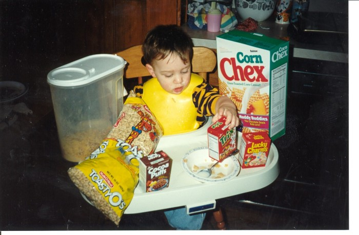 1. Meet Minneapolis resident Jack. He really liked his cereal back in the day, but had some trouble with decision-making.