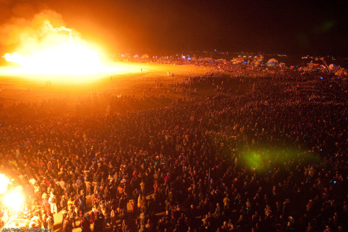 8. Nevada is home to the world-famous Burning Man.
