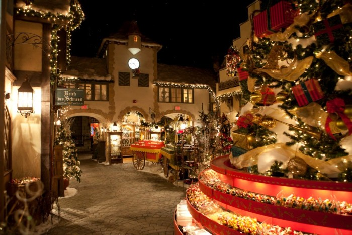 11. Celebrate the holidays all year round at the Yankee Candle Village.