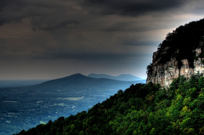 8. Experiencing the last remaining remnant of an ancient mountain chain at Pilot Mountain.