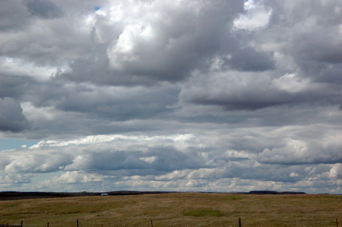 13. Our skylines often involve incredible clouds scuttling along above the landscape.