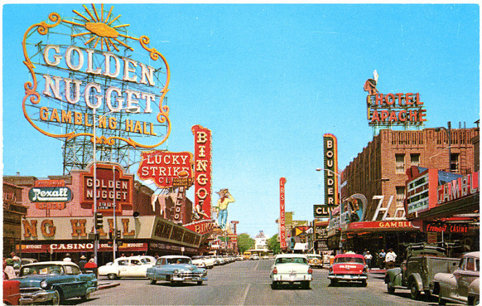 3. Fremont Street, Las Vegas, 1956