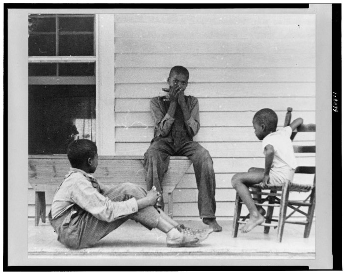 1. Simple times on the front porch.