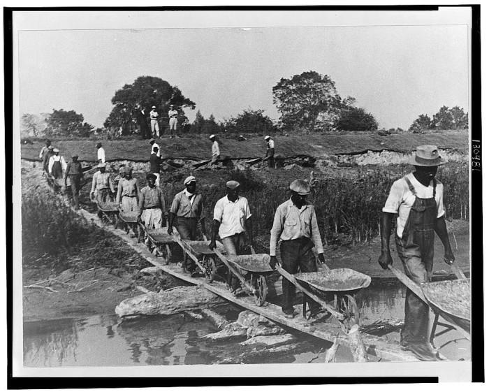 16. Levee workers, Plaquemines Parish