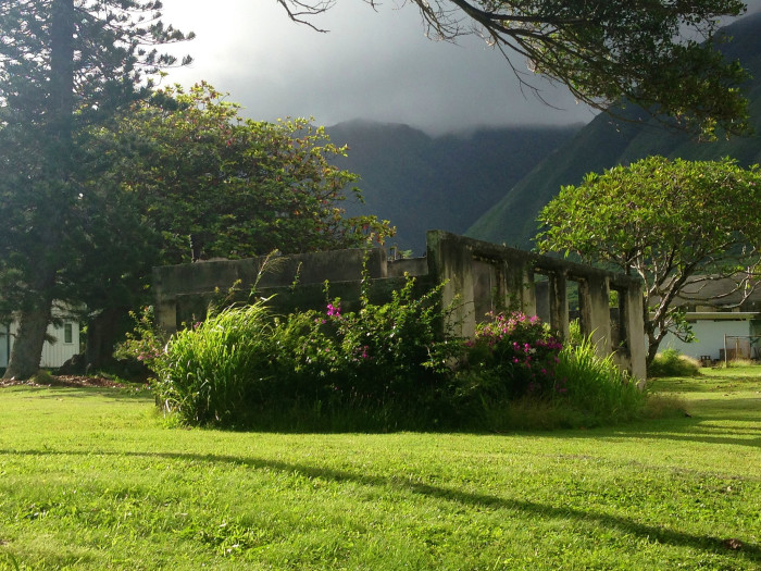 4) The Bishop Home, located at Molokai's former leper colony, once consisted of 16 buildings, including a chapel, social hall, dormitories, kitchen, and convent, pictured below. The campus today is a shell of its former self.