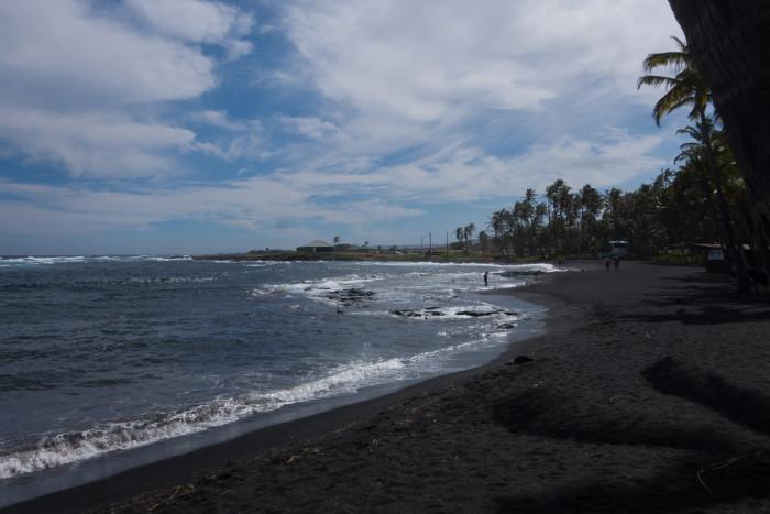 4) Punalu'u Beach, Big Island