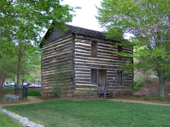 The Christopher Taylor house that was built around 1777