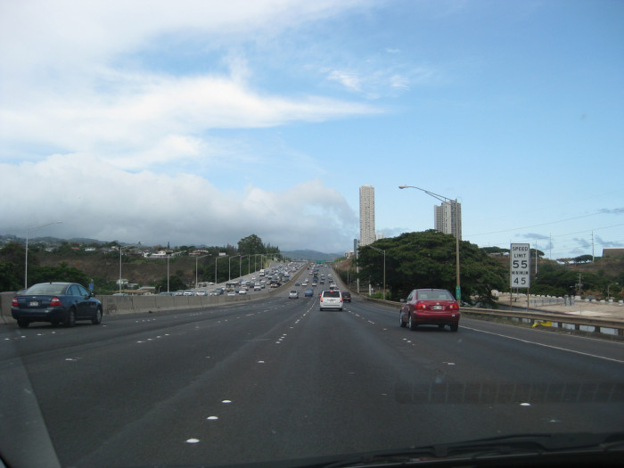 A lot has changed for Oahu's major freeway in the last several decades.