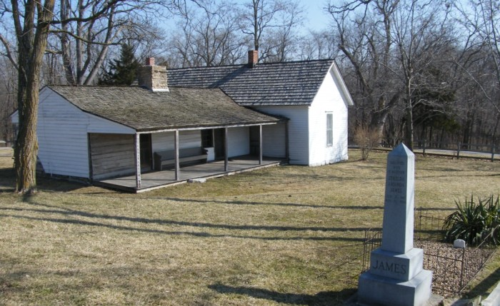 5.	Jesse James Farm, Kearney