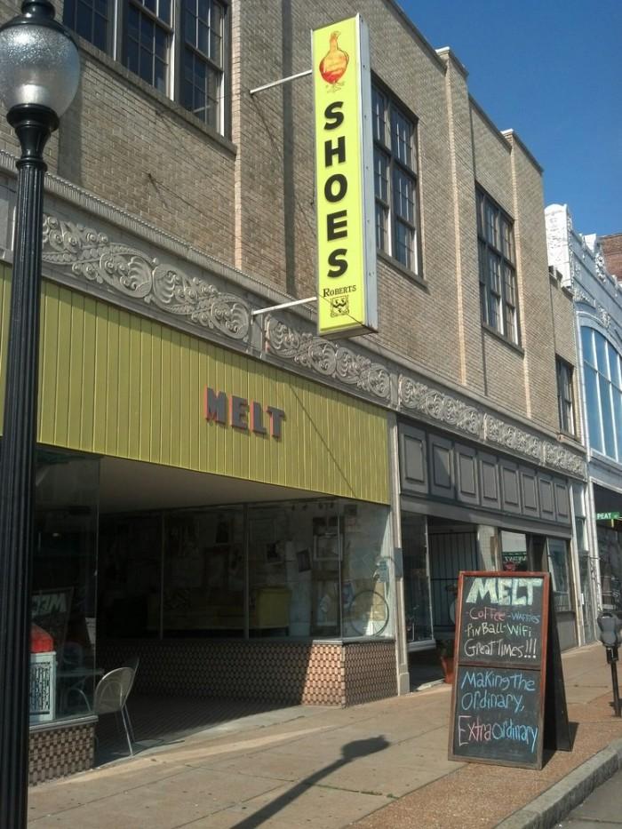 4.  Outside, Melt, St. Louis