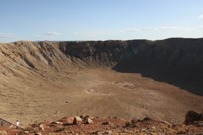 20. Stop at Meteor Crater near Winslow to see the world's best preserved crater.