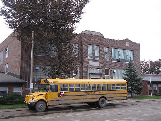 Your Kindergarten through Seniors were all in one building. - Small High School In South Dakota