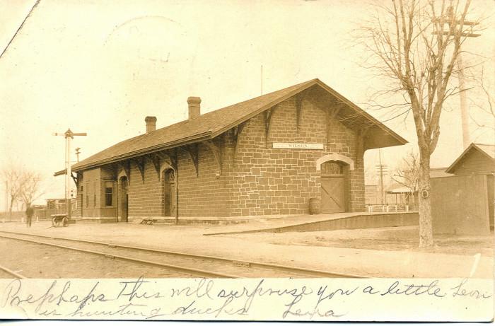 10. Wilson Railroad Depot (1907)