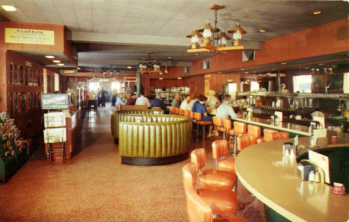10. Commercial Hotel Coffee Shop, Elko, 1950s