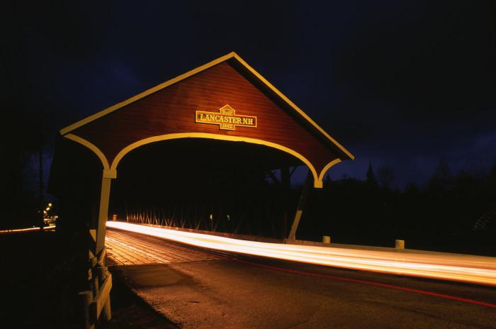 7. A unique view of a New Hampshire icon.