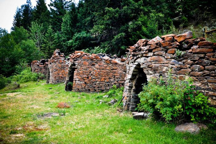 8. 19th Century Charcoal Kilns