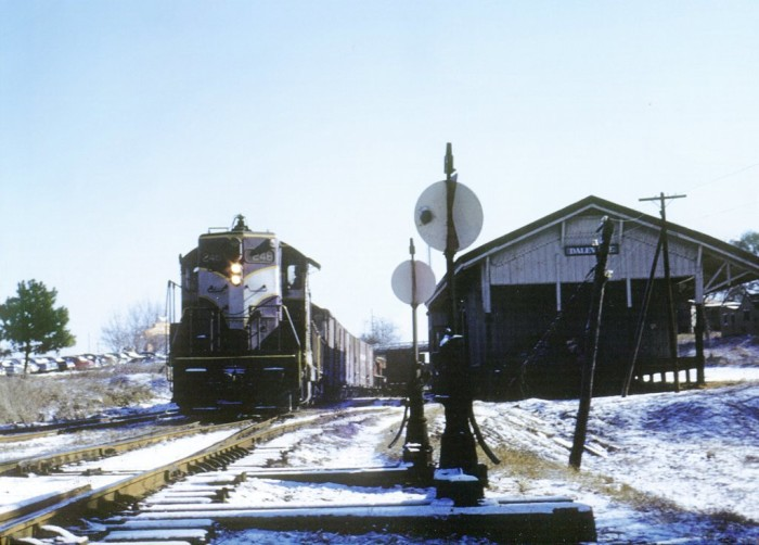 9. The late Tom Solomon was an avid railfan in the Wiregrass region of Alabama. Many of his photos, such as this one taken in Daleville, Alabama (1958), are some of the only ones that exist from the region during the 19th and 20th centuries.