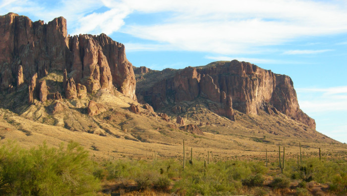 16. Superstition Mountains