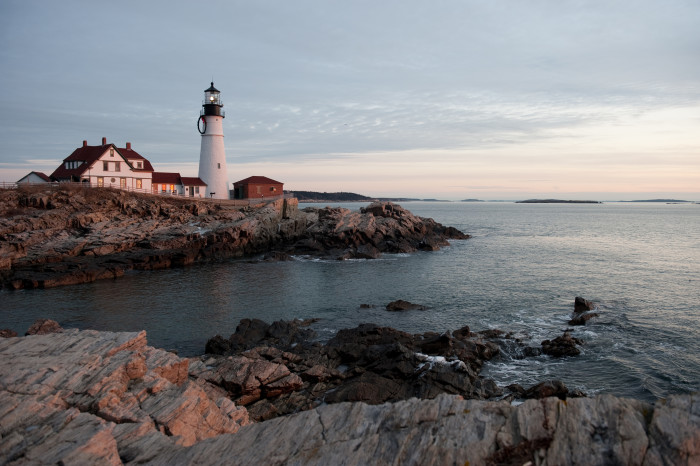 17. Most importantly, with 67 lighthouses, Maine is a state that will always happily guide you home.