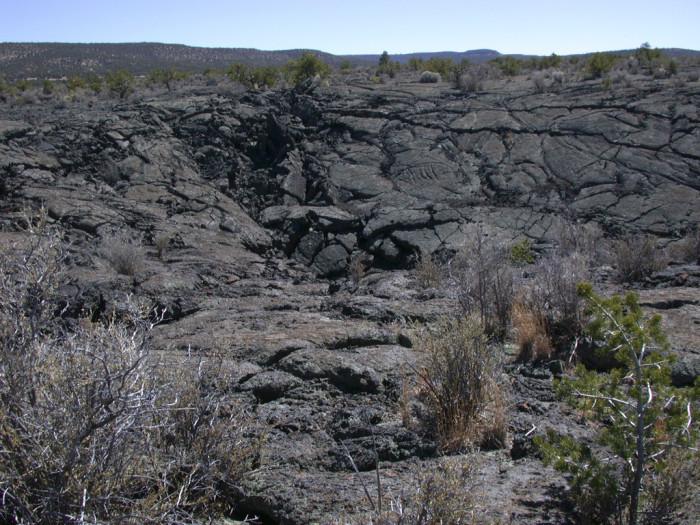 6. El Malpais lava flow, near Grants