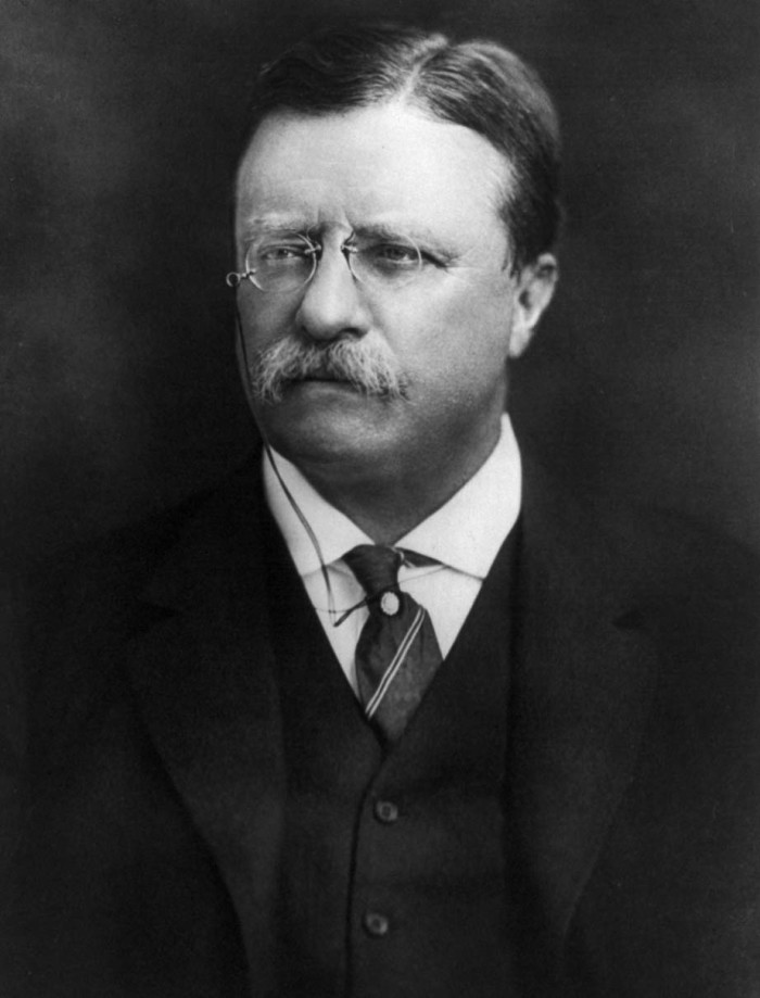 2. Theodore Roosevelt would have never become president if it weren't for North Dakota.