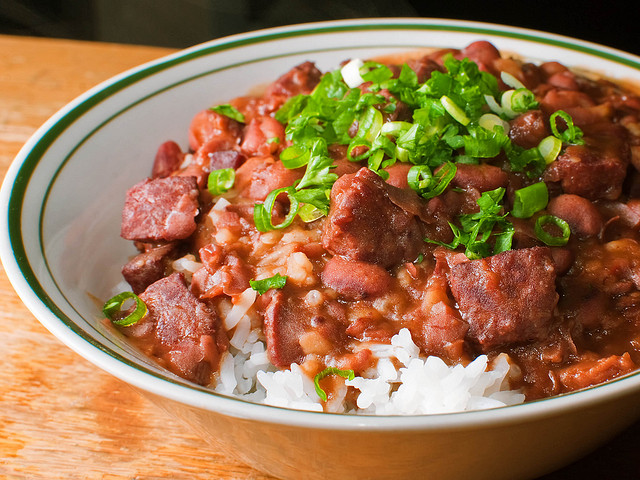2. Red Beans and Rice