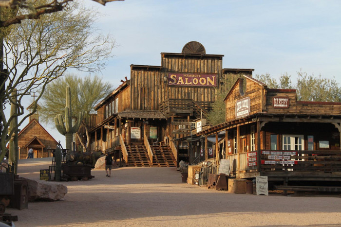 2. Goldfield Ghost Town
