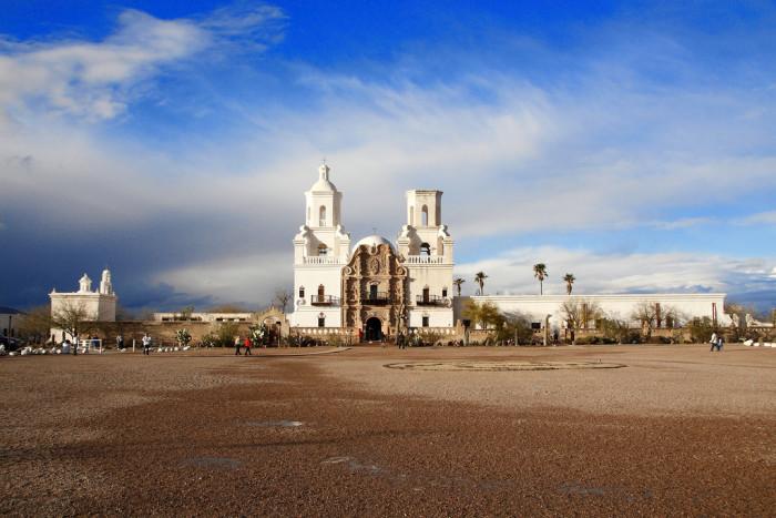 10. San Xavier del Bac Mission
