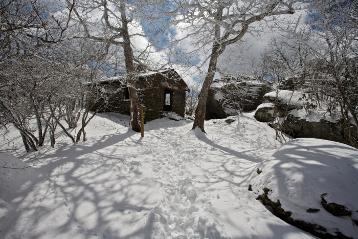 Although cold, visiting Blood Mountain during the winter brings a frosted bliss.