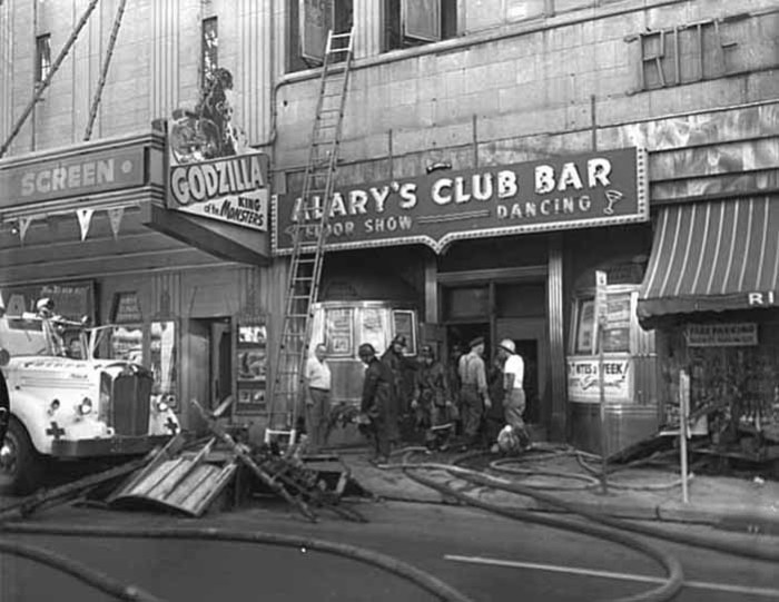 14. This is Alary's Bar when it was located at 444 North Wabasha Street in St. Paul in 1956.