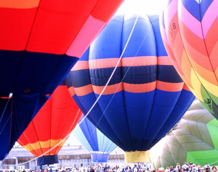 1. Hot Air Balloon Festival