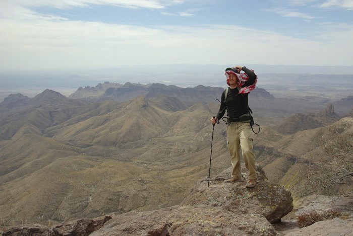 I'm sure this hike leaves you feeling on top of the world. (Which is a good thing - as long as you don't look down!)