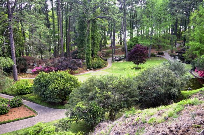 8. Hodges Gardens, Florien