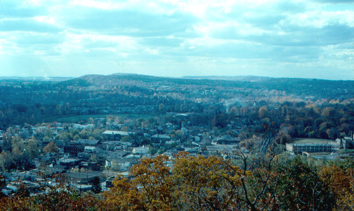 5. Millburn as seen from South Mountain in 1965.