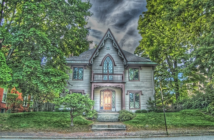 4. Some believe the John J. Brown house in Portland is haunted. What do you think?
