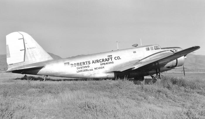 6. Douglas B-18B (N66267), Reno, 1952