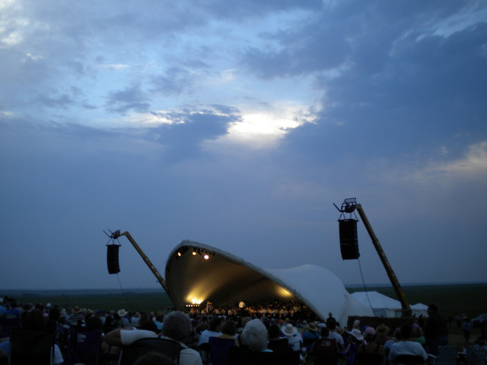 4. Symphony in the Flint Hills (Chase County)