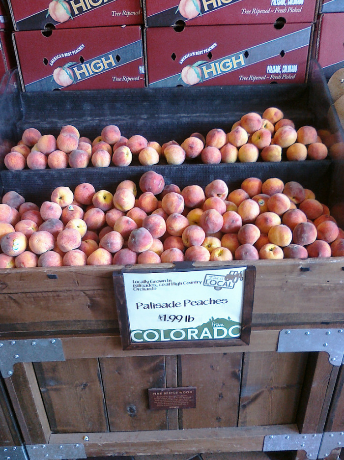 2. Palisade peaches