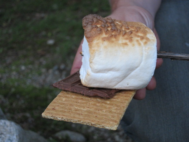 2. A strong opinion on how your s'more should be cooked.