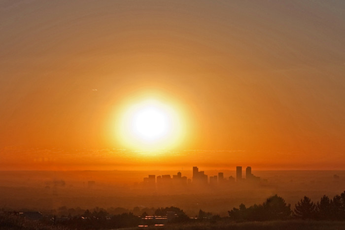 6. Colorado is home to an average of 300 sunny days per year.