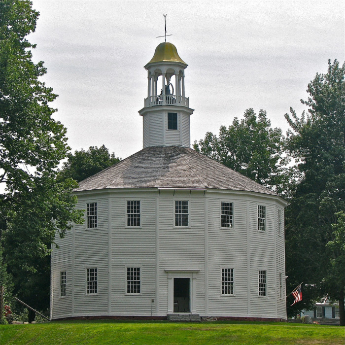 6.  The Old Round Church in Richmond