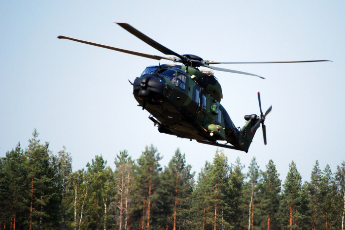 7. But it's also forbidden to hunt from a helicopter, whether it's in the air or not.