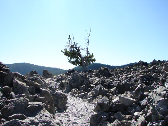5. Newberry National Volcanic Monument Big Obsidian Flow
